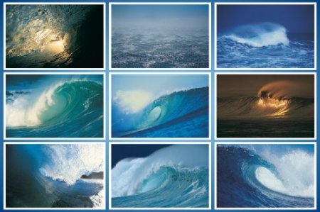 Amazing Set of Wave HD Wallpapers (Set - 2)