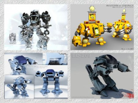 20 Future Robots - Best Wallpapers(2012г)
