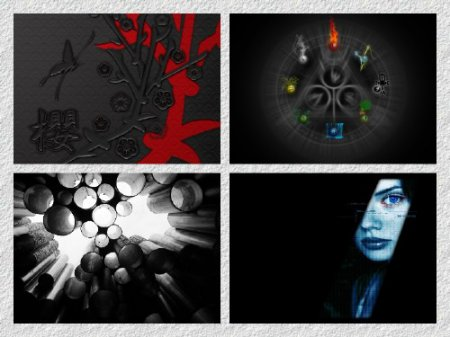 30 Black Amazing - Darkside Wallpapers 2012г