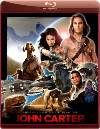 Джон Картер / John Carter (2012 / HDRip / 2.69 Gb)