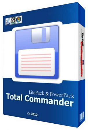 Total Commander 8.00 RC2 LitePack & PowerPack 2012.5 + Portable (x32/x64/RUS)