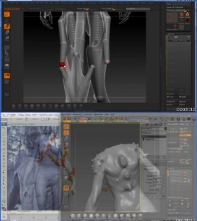 Digital Tutors – Creative Development : Creating a Gargoyle in 3ds Max and ZBrush with Brian Parnell