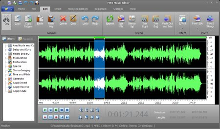 Mp3 Music Editor 7.0.1 Portable