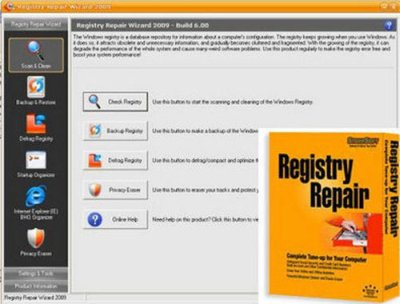 Registry Repair Wizard 2012 Build 6.72 Portable