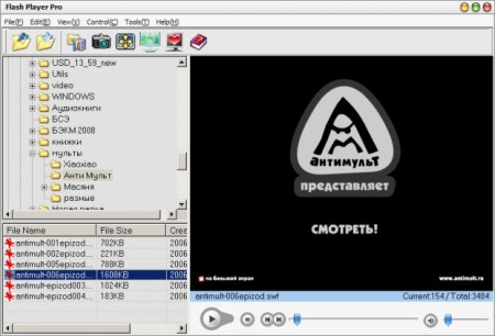 Flash Player Pro 5.21 Portable