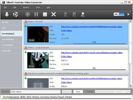 Xilisoft YouTube Video Converter 3.3.1.20120625 Portable