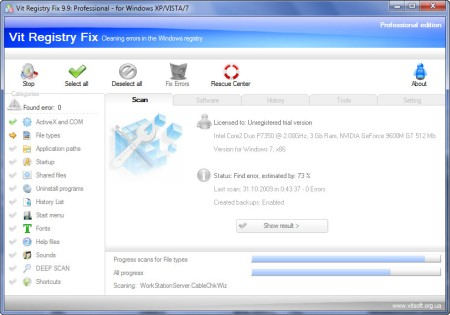 Vit Registry Fix Pro 12.3 Portable