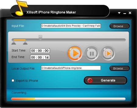 Xilisoft iPhone Ringtone Maker 3.0.6.20120613 Portable
