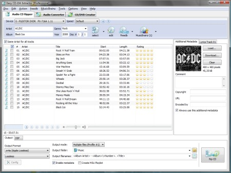 Easy CD-DA Extractor 16.0.7.1 Portable