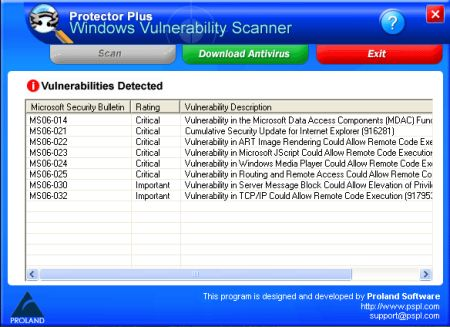 Windows Vulnerability Scanner 2.3 Portable